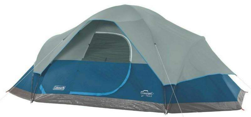 Coleman Oasis 8-Person Tent - front view.