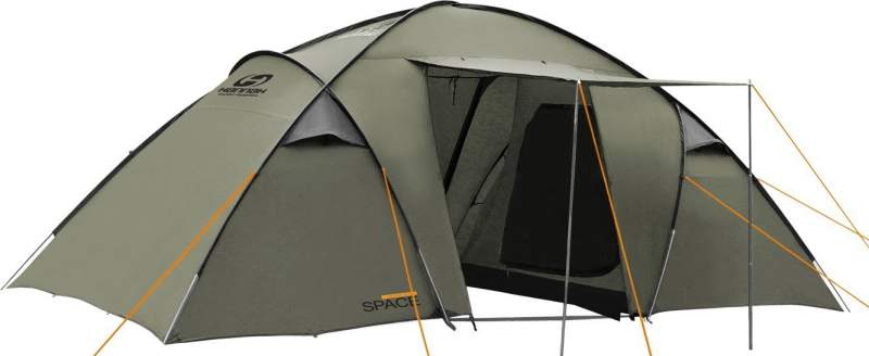 H HANNAH Space 6 Person Family Tent.