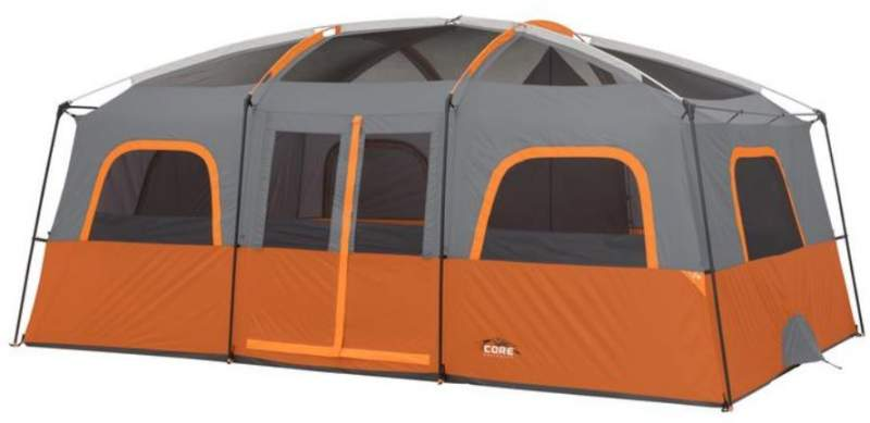 The Core 12 tent shown without the fly.