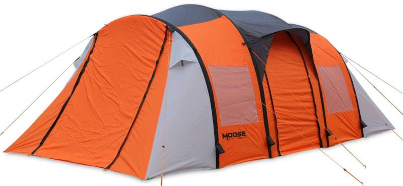 MOOSE OUTDOORS Inflatable Tent 10 person.