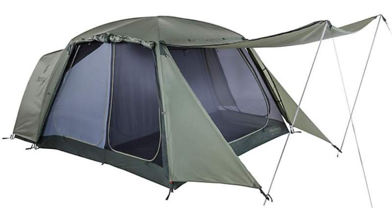 Marmot Guest House 6-Person Tent.