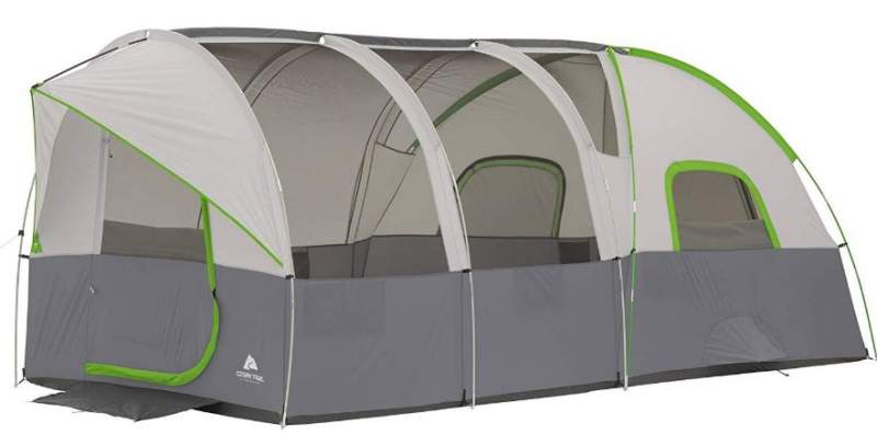 This is the tent shown without the fly - the freestanding construction.