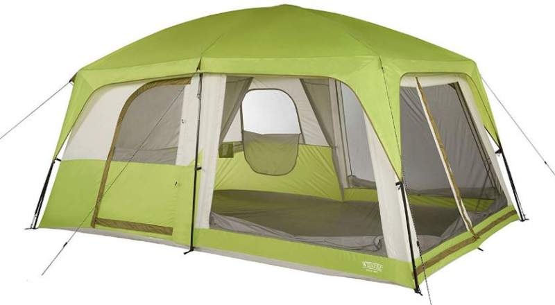 Wenzel Eldorado 8 Person Tent side view.