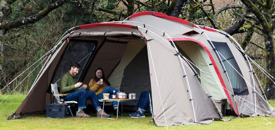 Snow Peak Land Lock 6 Person Tent.