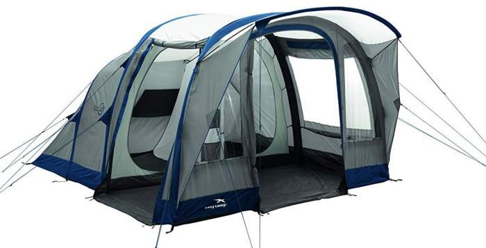 Easy Camp Hurricane 500 Inflatable Tunnel Tent.
