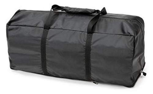 A suitcase style carry bag.