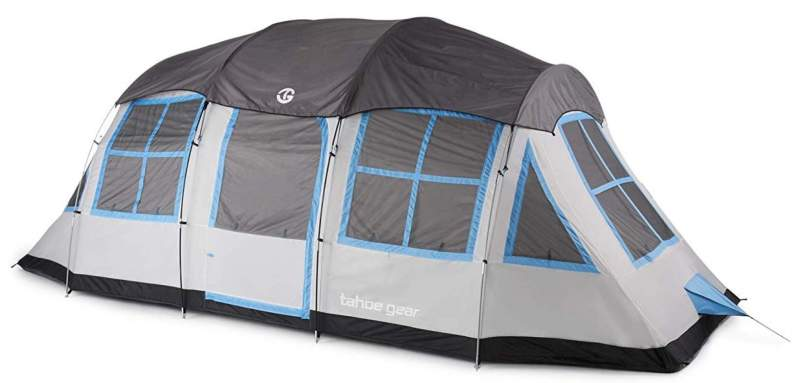 Tahoe Gear Prescott 12 Person Tent.