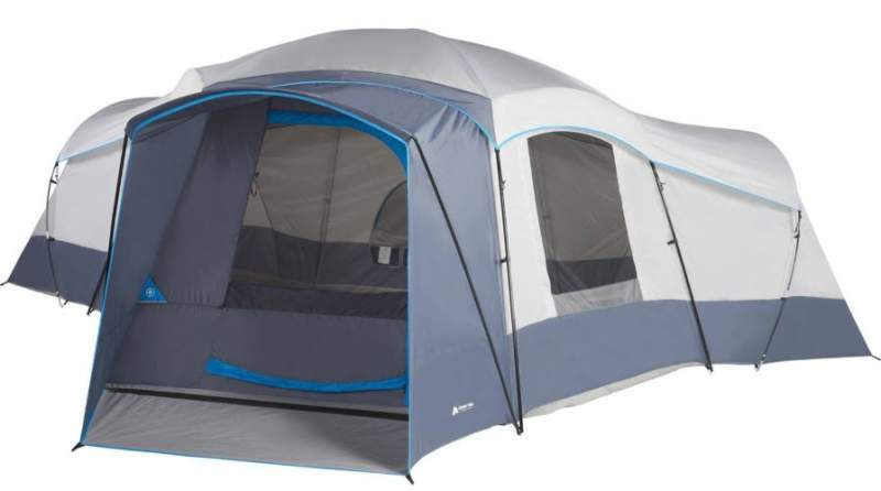 Ozark Trail 16-Person Cabin Camping Tent.
