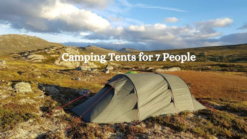 Camping Tents for 7 People