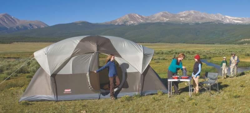 Coleman WeatherMaster Tent 10 Person.