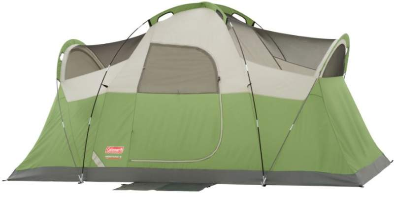 This is the Montana 6 tent shown without the fly.