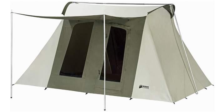 Kodiak Canvas Deluxe 8 Person Tent.