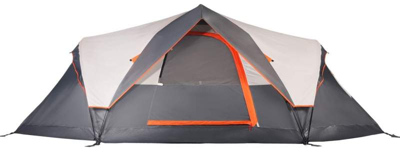 Mobihome 6-Person Tent front view.