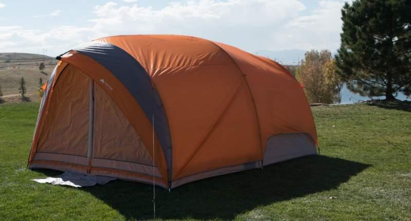 Ozark Trail 8-Person Dome Tunnel Tent.