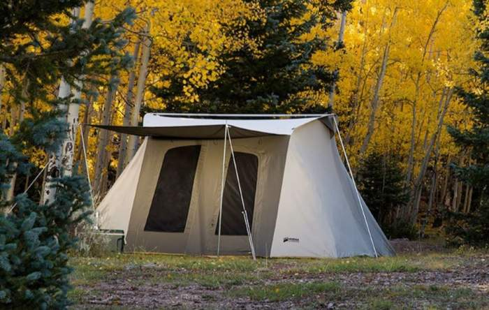 Kodiak Canvas Deluxe 8 person tent.
