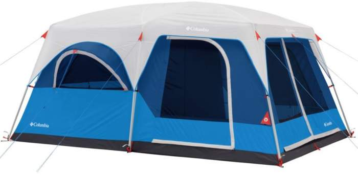 Columbia Mammoth Creek 10 Person Cabin Tent.