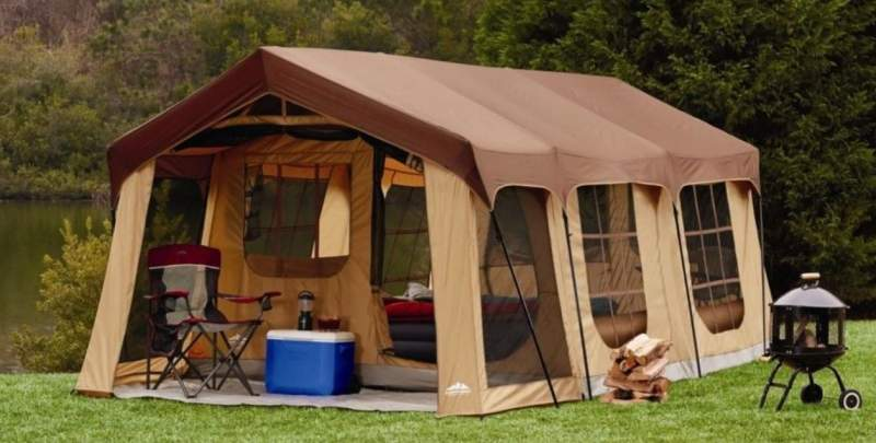 Northwest Territory Front Porch Cabin Tent 10 Person.