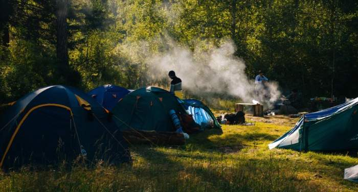 How to Cook in a Tent