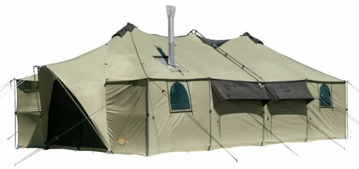 Cabela's Ultimate Alaknak™ 13-ft. x 27-ft. Tent.