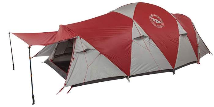 Big Agnes Mad House 8 Person Tent.