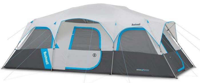 Bushnell Sport Series 12 Person Cabin Tent.