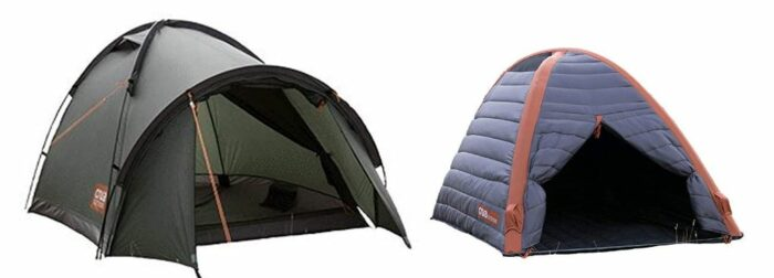 Crua Duo Dome insulated tent.