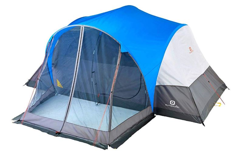 Outbound 8-Person Tent with Screen Porch.