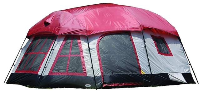 Texsport Highland 8 Family Camping Cabin Tent.