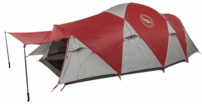 Big Agnes Mad House 6 Tent - a true double wall tent.
