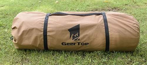 This is the teepee in its carry bag.