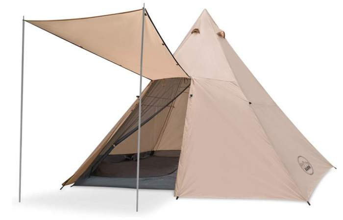 KAZOO Family Camping Tent Tipi Titan 8 Person.