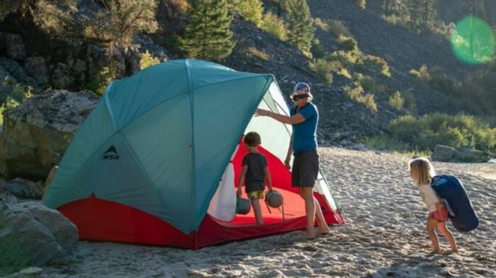 MSR Habitude 6-Person Camping Tent.