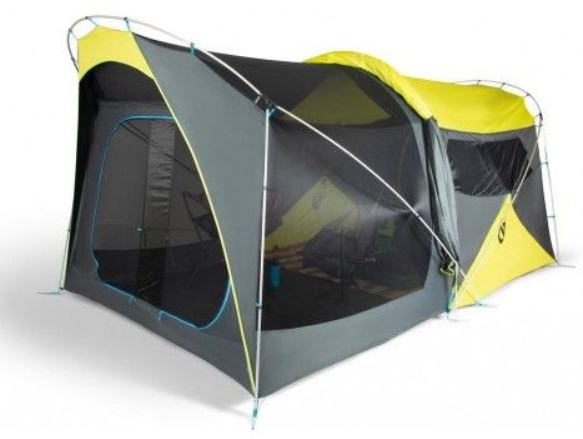 This is a tent with a screen room.