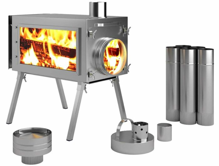 Caminus Russian-Bear Camping Stoves for Tents.