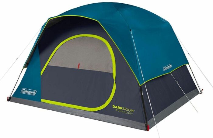 Coleman 8-Person Dark Room Skydome Camping Tent.