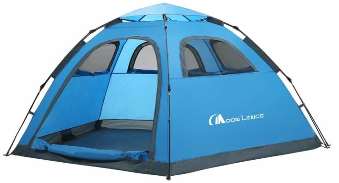 MOON LENCE Instant Pop Up Tent 4-5 Person.