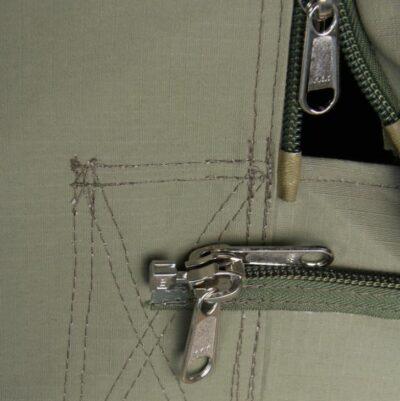 The best YKK zippers.