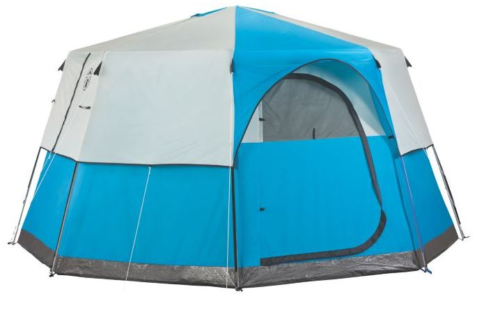 Coleman Octagon 98 Tent with Half Fly.