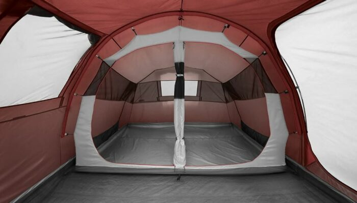The removable inner tent in Ferrino Meteora 4 Tent.