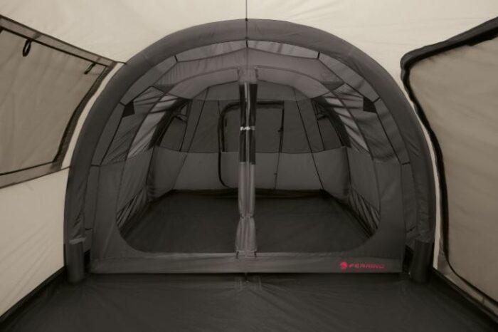 The inner tent with two sleeping units.