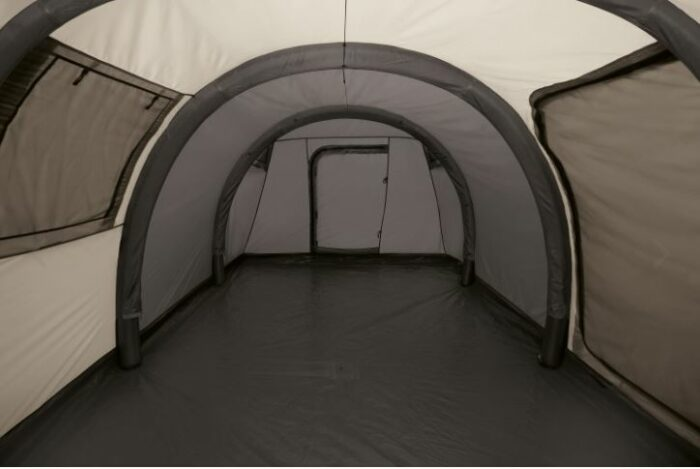 This is the shell tent alone when the inner tent is removed.