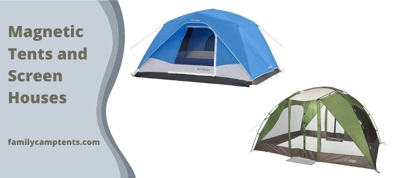 Magnetic Tents and Screen Houses
