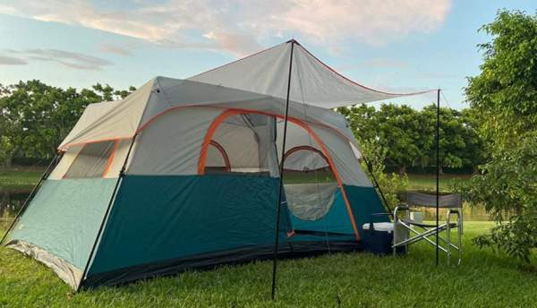 NTK Flash 8 Instant Cabin Camping Tent.