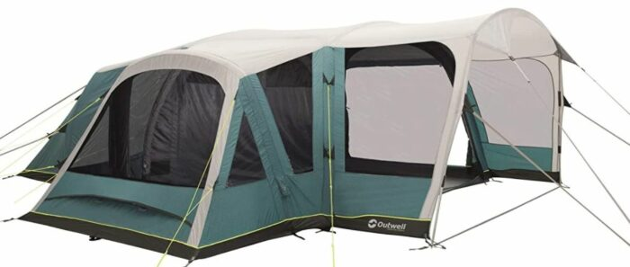 Outwell Hartsdale 6PA Prime Air 6 Man 3 Room Inflatable Tunnel Tent