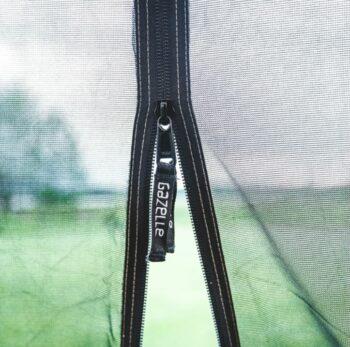 YKK zipper.