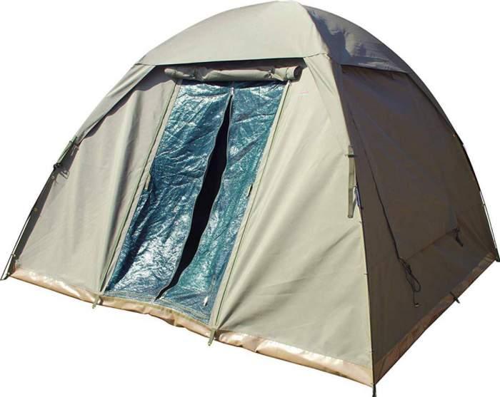 Bushtec Adventure Nomad Tent front view.