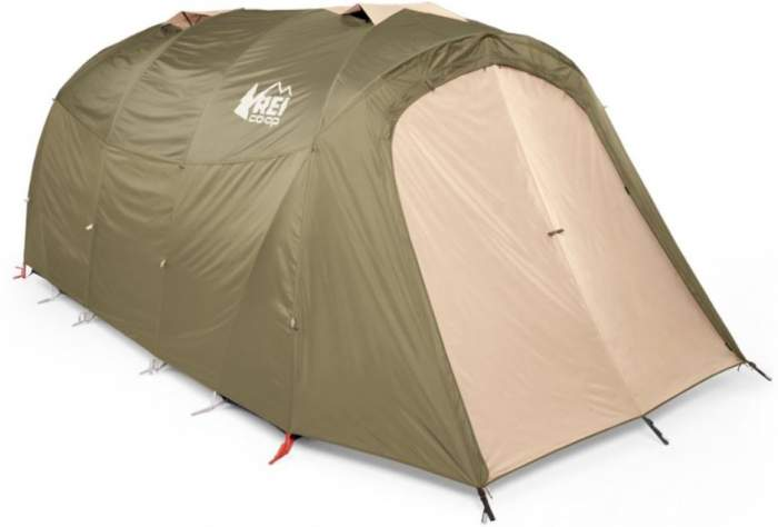 REI Co-op Kingdom 8 Tent front view.