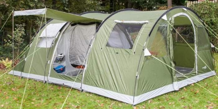 Skandika Gotland Group or Family Tunnel Tent 5 Person