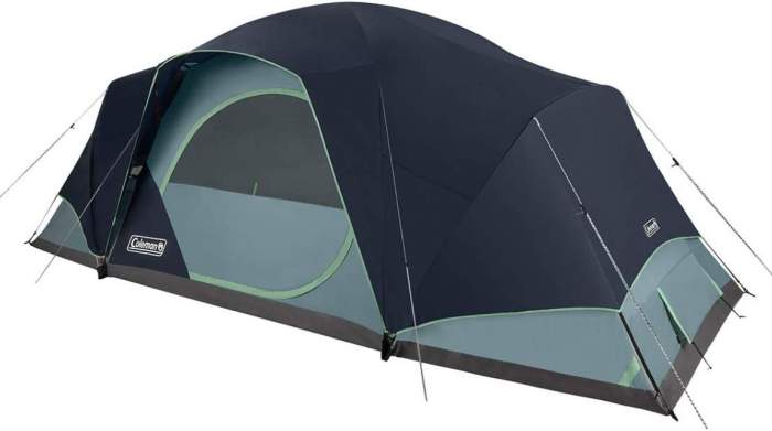 Coleman 12 Person Skydome XL Tent.