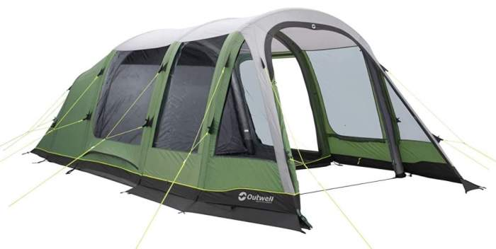 Outwell Chatham 4 Person Air Tent.